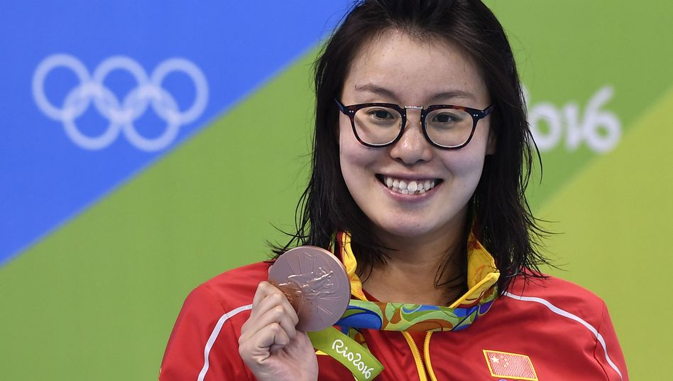 Am 8. August hatte Fu Yuanhui Bronze im Rückenschwimmen gewonnen.