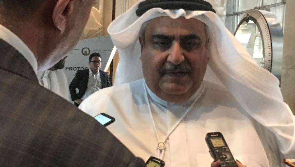 """Bahrains Außenminister: """"Das jüdische Volk hat einen Platz unter uns"""""""