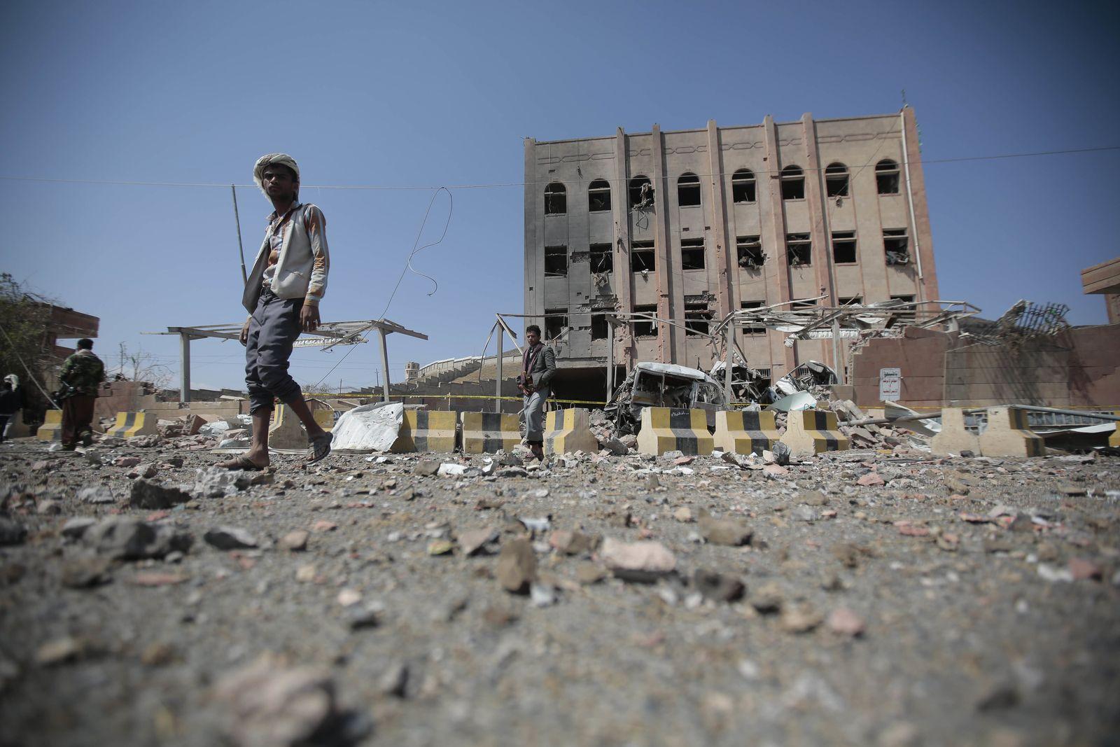 Luftangriff auf Forschungseinrichtung in Jemen