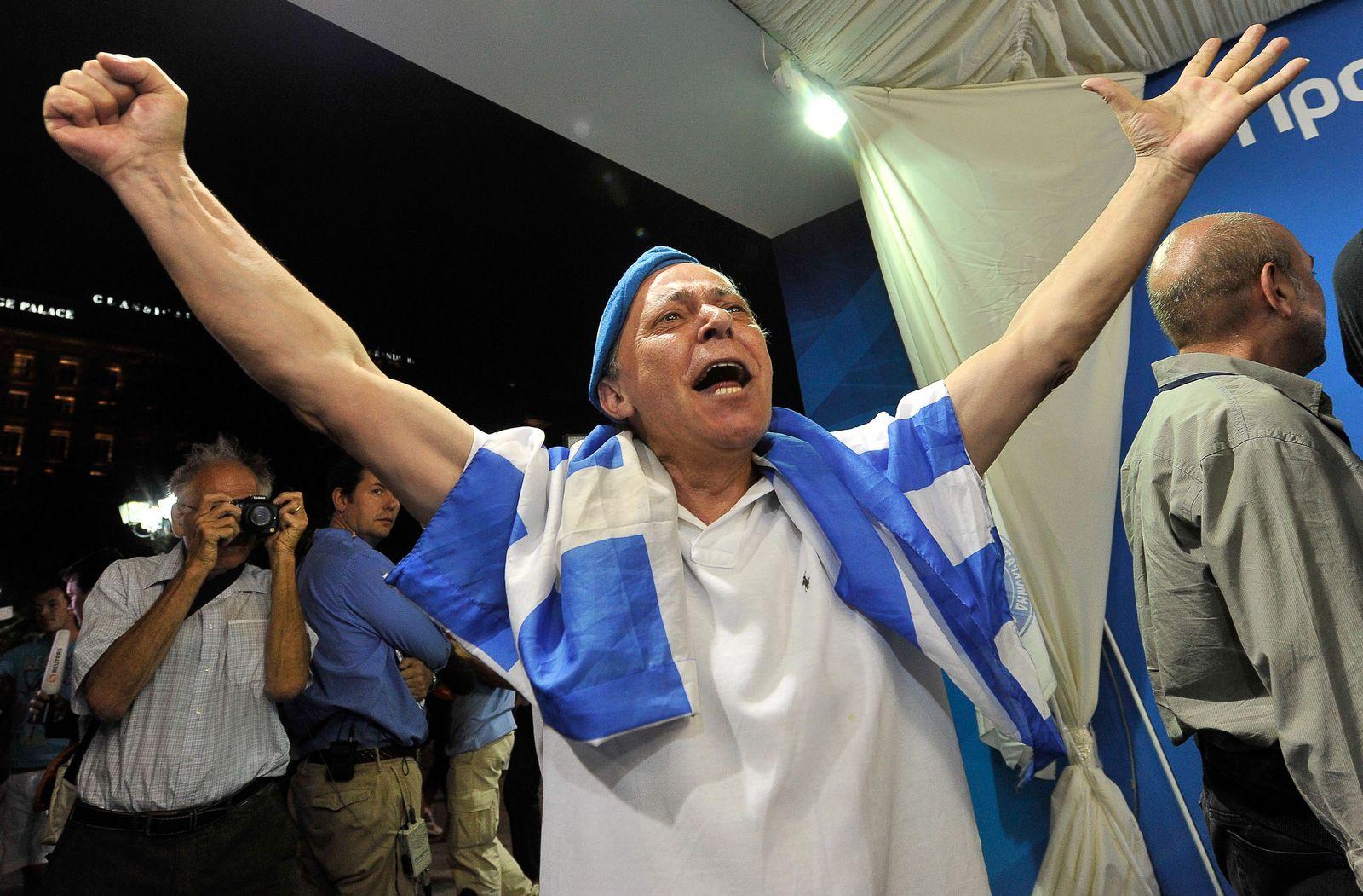GREECE-VOTE-SAMARAS