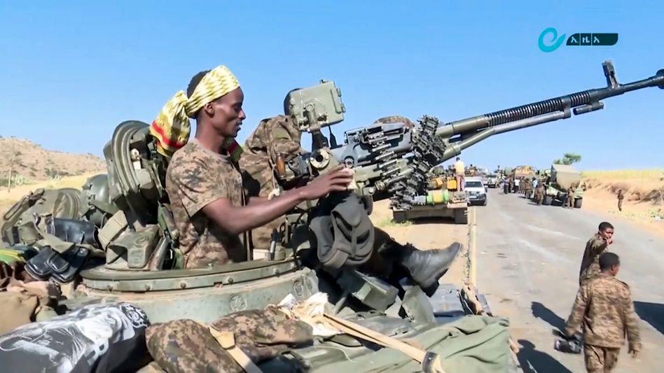 Äthiopisches Militär nahe der Grenze zur abtrünnigen Provinz Tigray: »Das Schlimmste wäre, wenn sich dort ein dauernder Guerillakrieg festsetzt«