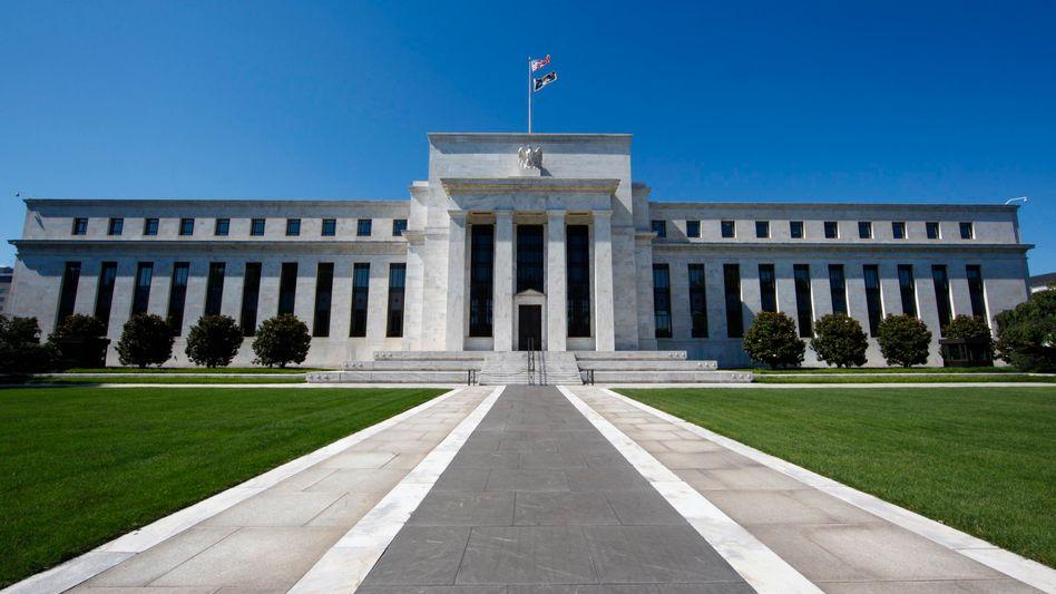 Fed-Gebäude in Washington: 800-Millionen-Deals in sieben Millisekunden