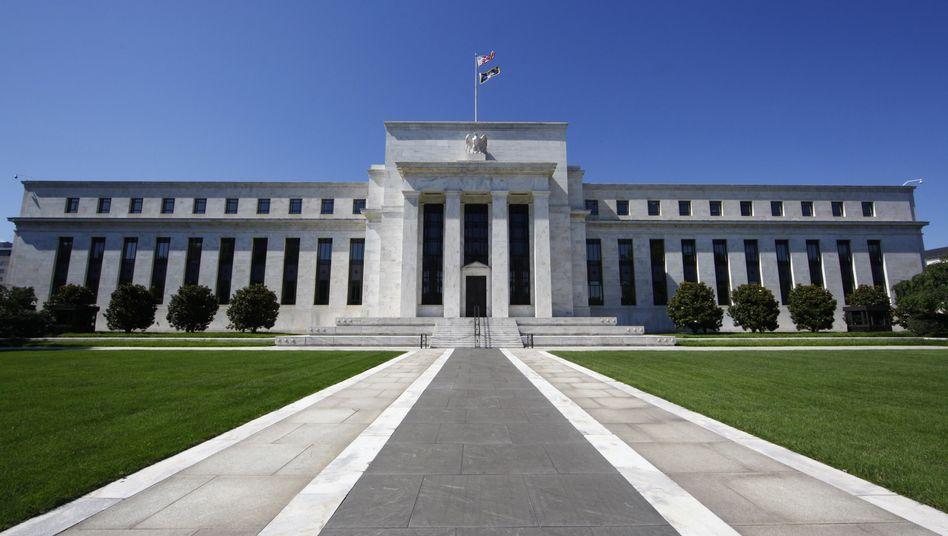 Zentrale der US-Notenbank in Washington: Rekordgewinn dank Anleihekäufen