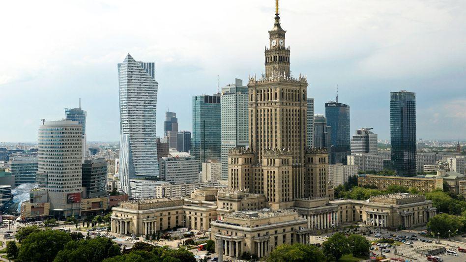 Polens Hauptstadt Warschau (Archivbild)