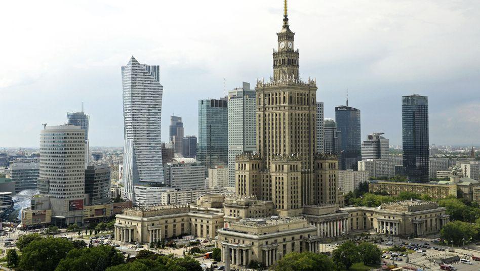 Stadtbild von Warschau