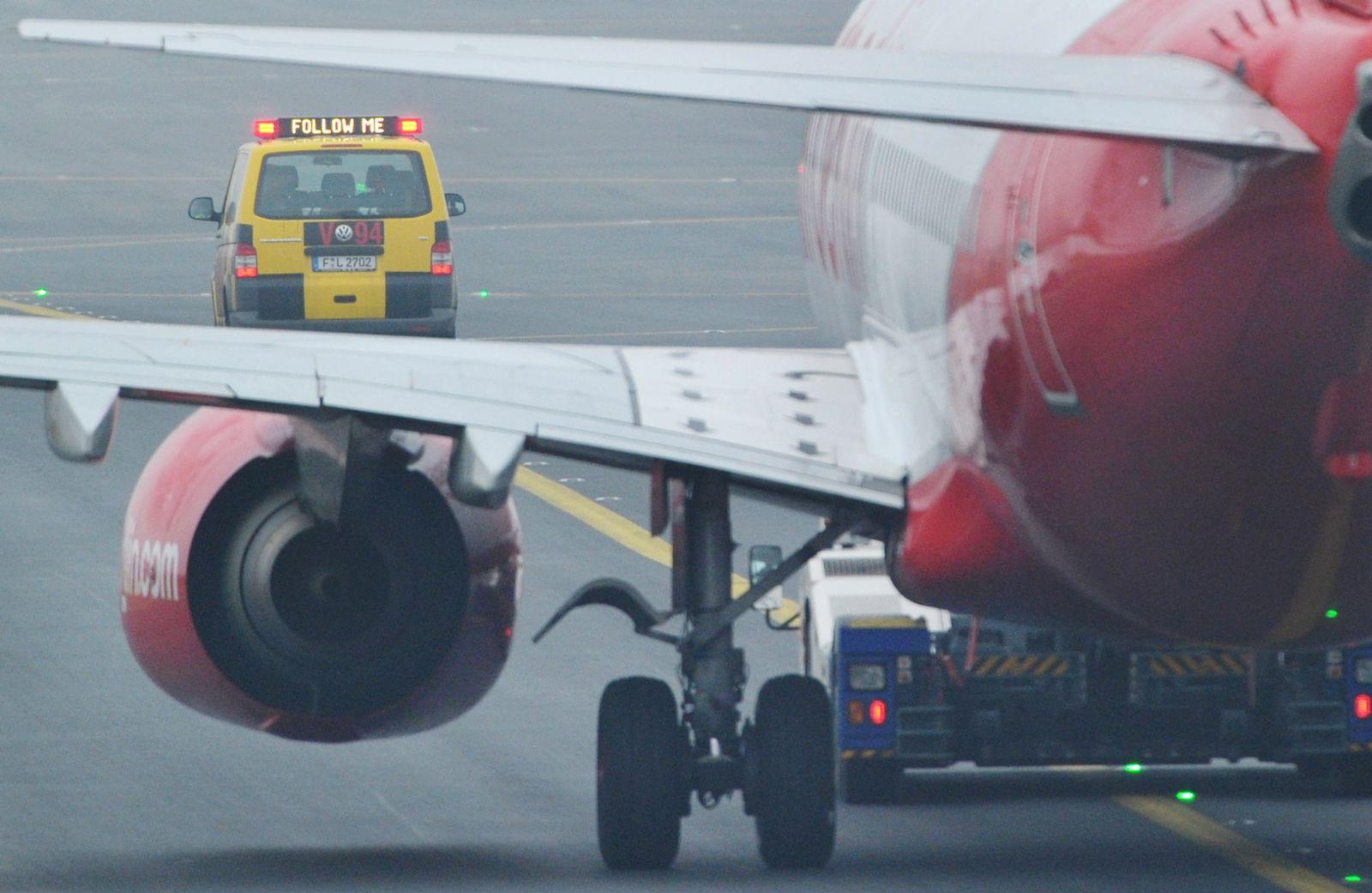 Streik am Flughafen Frankfurt geht weiter