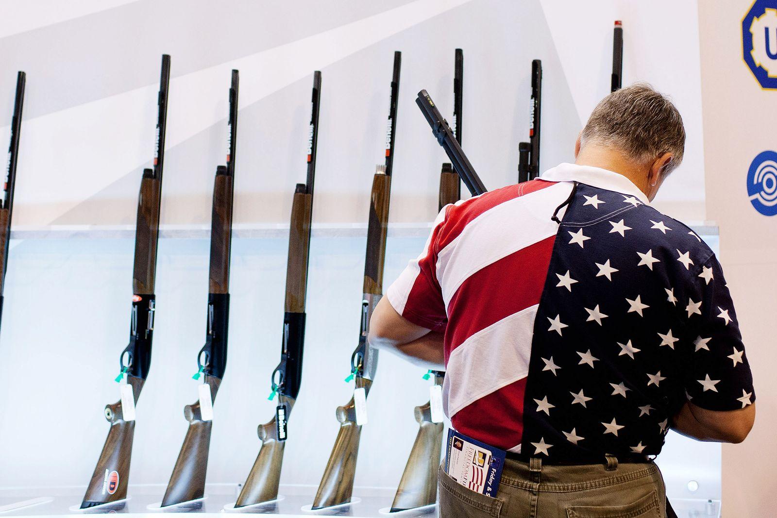 National Rifle Association/ NRA/ USA/ Waffen