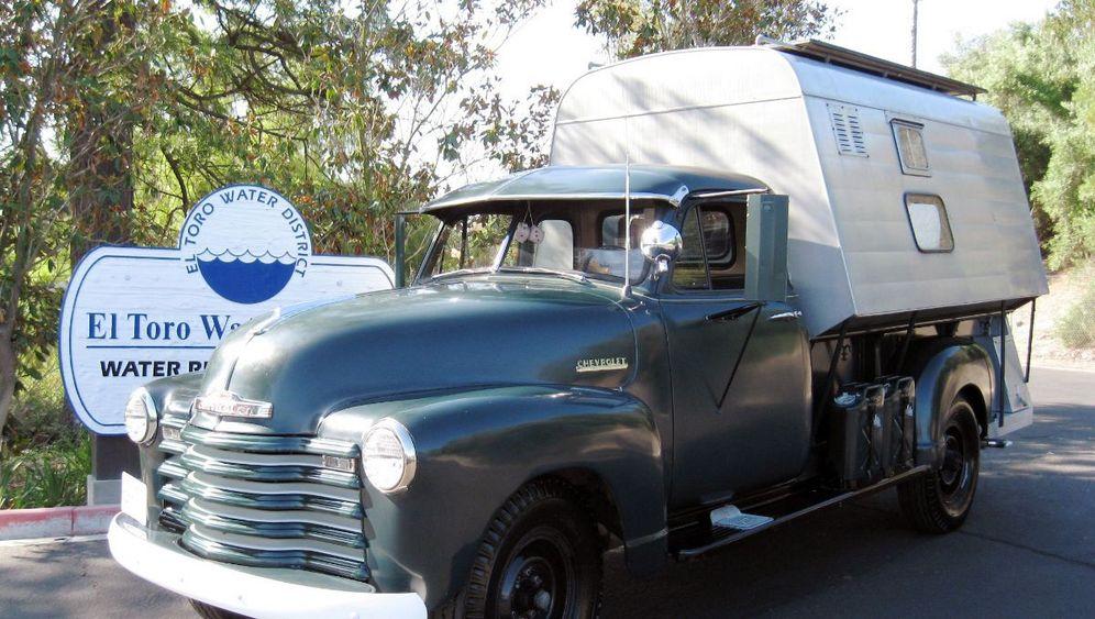 Steve McQueens Wohnmobil: Abenteuertruck unterm Hammer