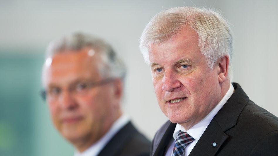 """Bayerns Ministerpräsident Seehofer: """"Ich finde diese Diskussion nicht angezeigt"""""""