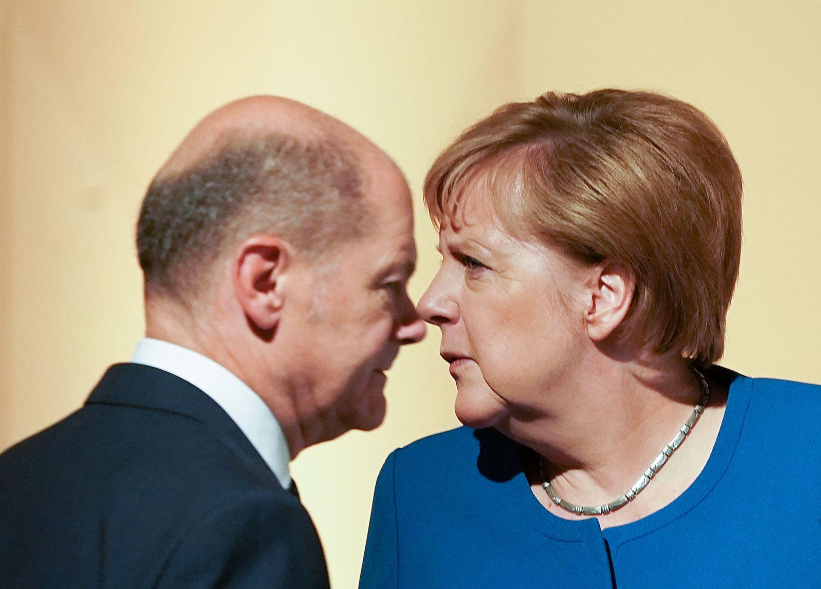 Scholz Merkel