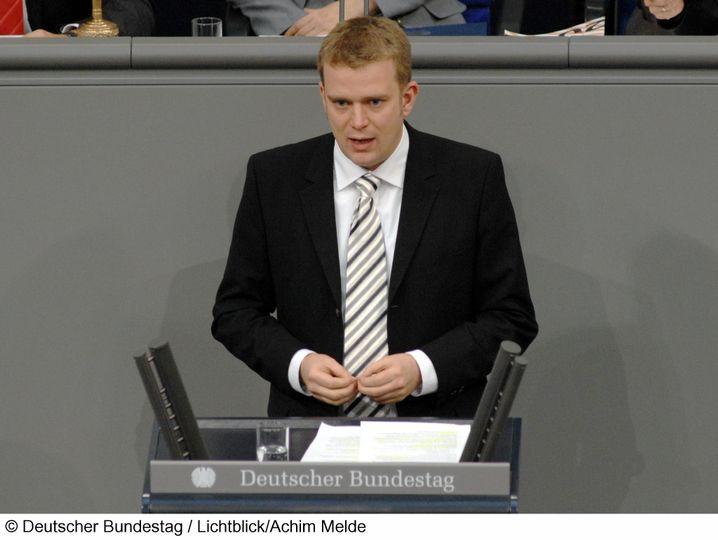 Reinhard Brandl, geboren 1977, erstmalig im Bundestag. Er ist Wirtschaftsingenieur