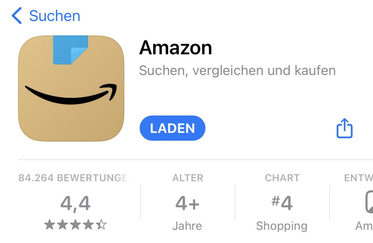 Amazon new app logo