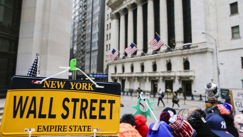 Börse an der Wall Street
