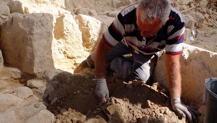 Hobby-Archäologen in Jerusalem: Graben, pinseln, entdecken