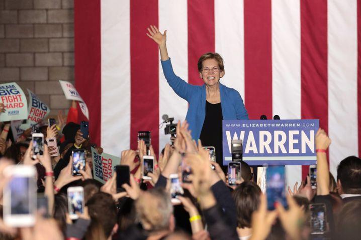 Weg verbaut: Elizabeth Warren