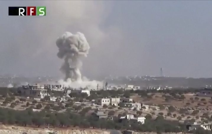 Luftangriff auf Haas