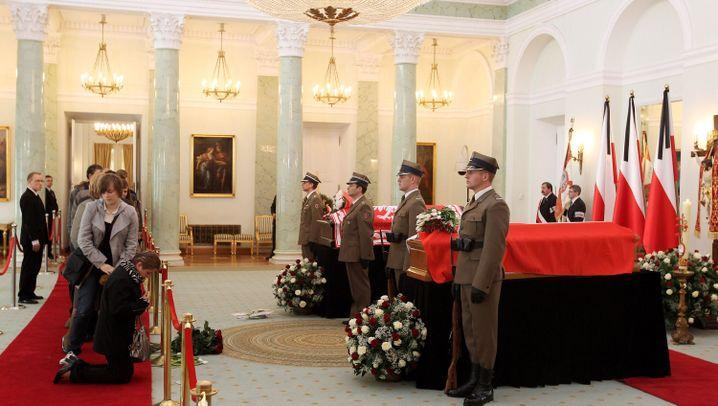 Lech Kaczynskis Tod: Trauer um den verstorbenen Präsidenten