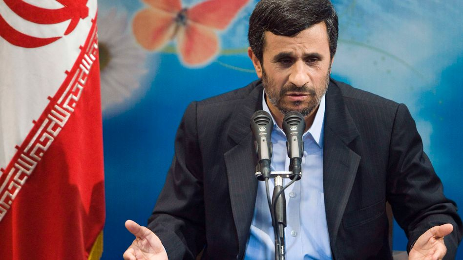 Irans Präsident Ahmadinedschad: Provokation mit Störsendern und Atomprogramm