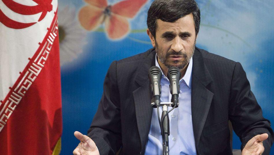 Iranischer Präsident Ahmadinedschad: Bau neuer Atomanlagen angeordnet