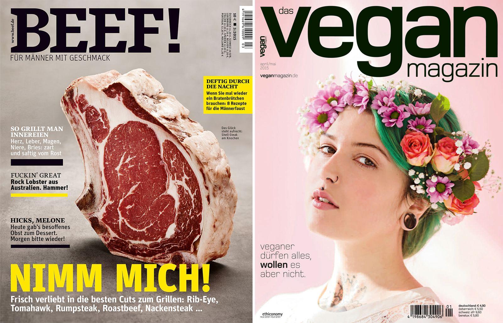 Magazin/ Beef! - Vegan Magazin