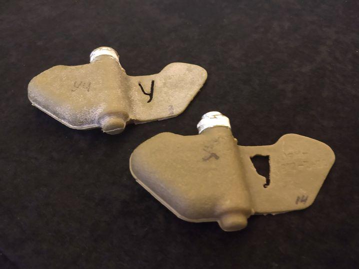 Landminen des Typs PFM-1 (Übungsmunition)