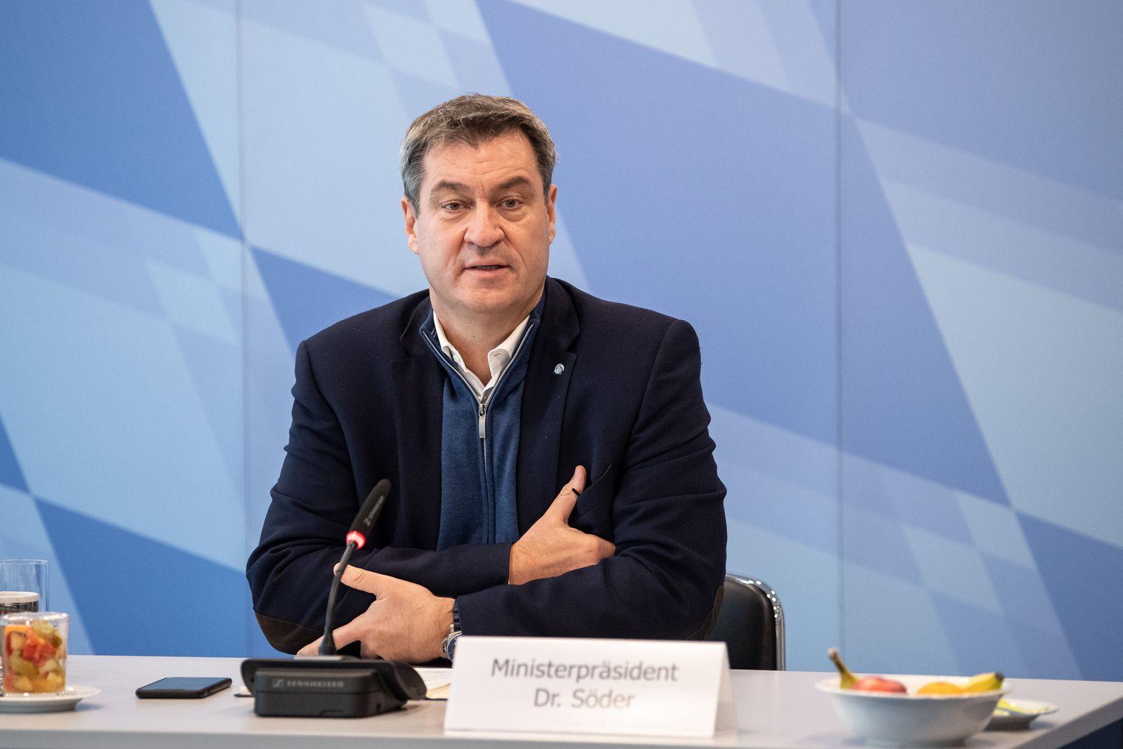 Kabinettssitzung in München