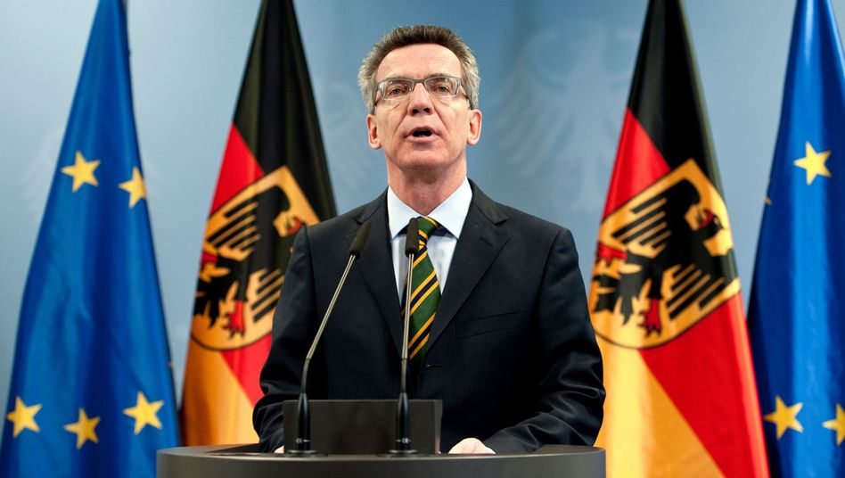 Innenminister de Maizière: Zweifel an der Glaubwürdigkeit des Informanten