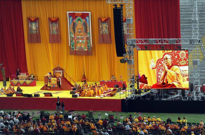 Gast Dalai-Lama in Frankfurt am Main 2009: Tolerant und weltoffen