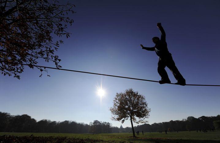 Balanceakt: Trainiert Koordination, Gleichgewicht und Körperbewusstsein