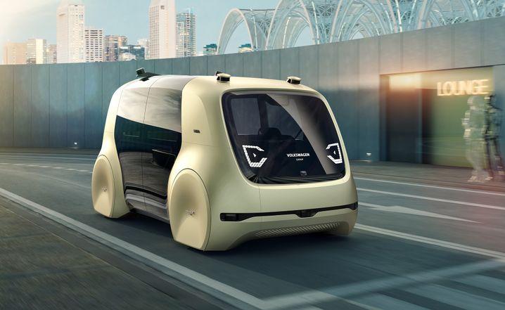 Robo-Taxi VW Sedric