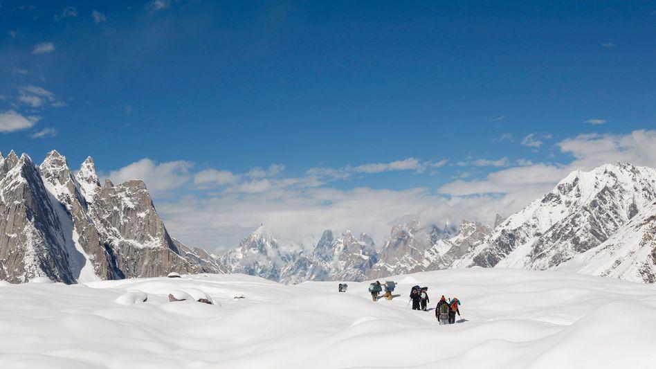 Bergsteiger im Karakorum-Gebirge (Archivbild)