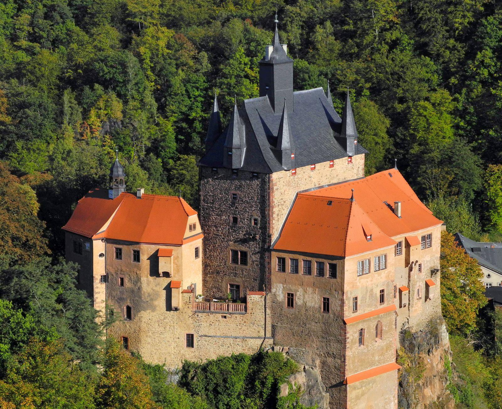 Sachsens Burgen / Burg Kriebstein