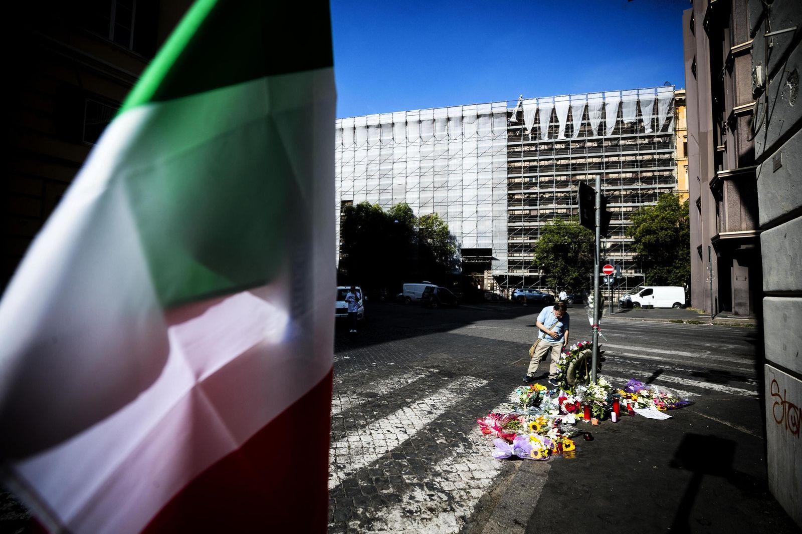 Italy Policeman Slain