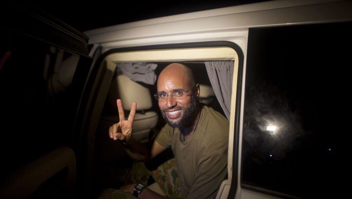 Machtkampf in Libyen: Saif al-Islams Auftritt vor Reportern
