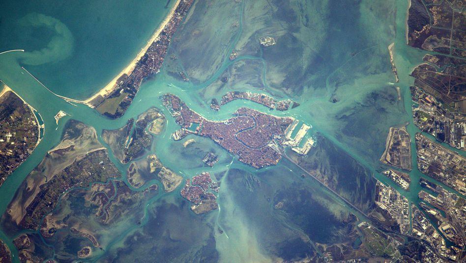 Foto aus dem All: Venedig