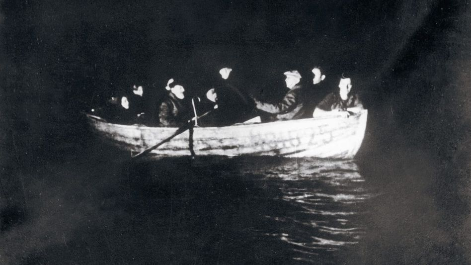 Dänische Juden auf der Flucht nach Schweden im Oktober 1943