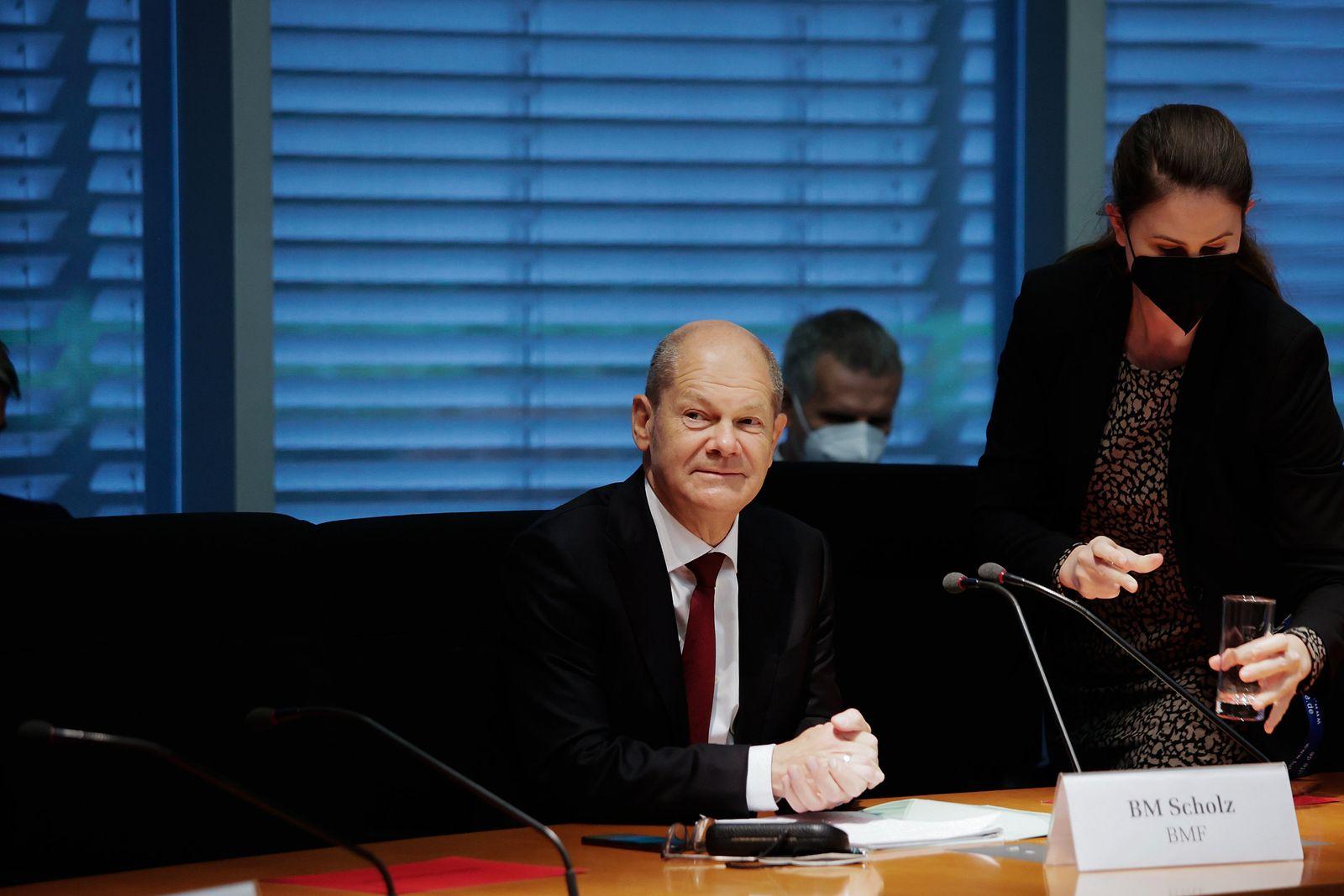 Sondersitzung Finanzausschuss Bundestag
