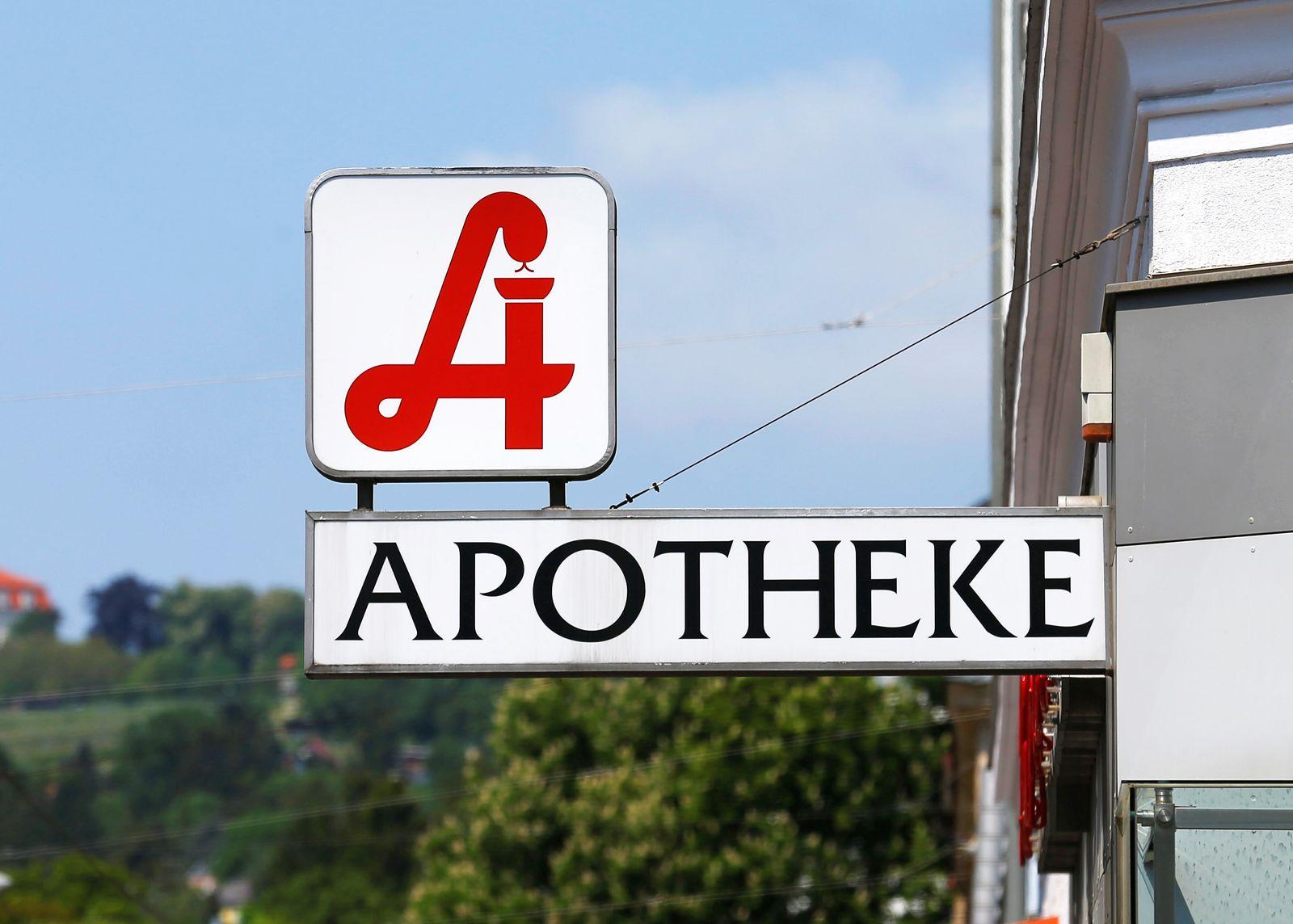 Apotheke/ Wien/ Österreich
