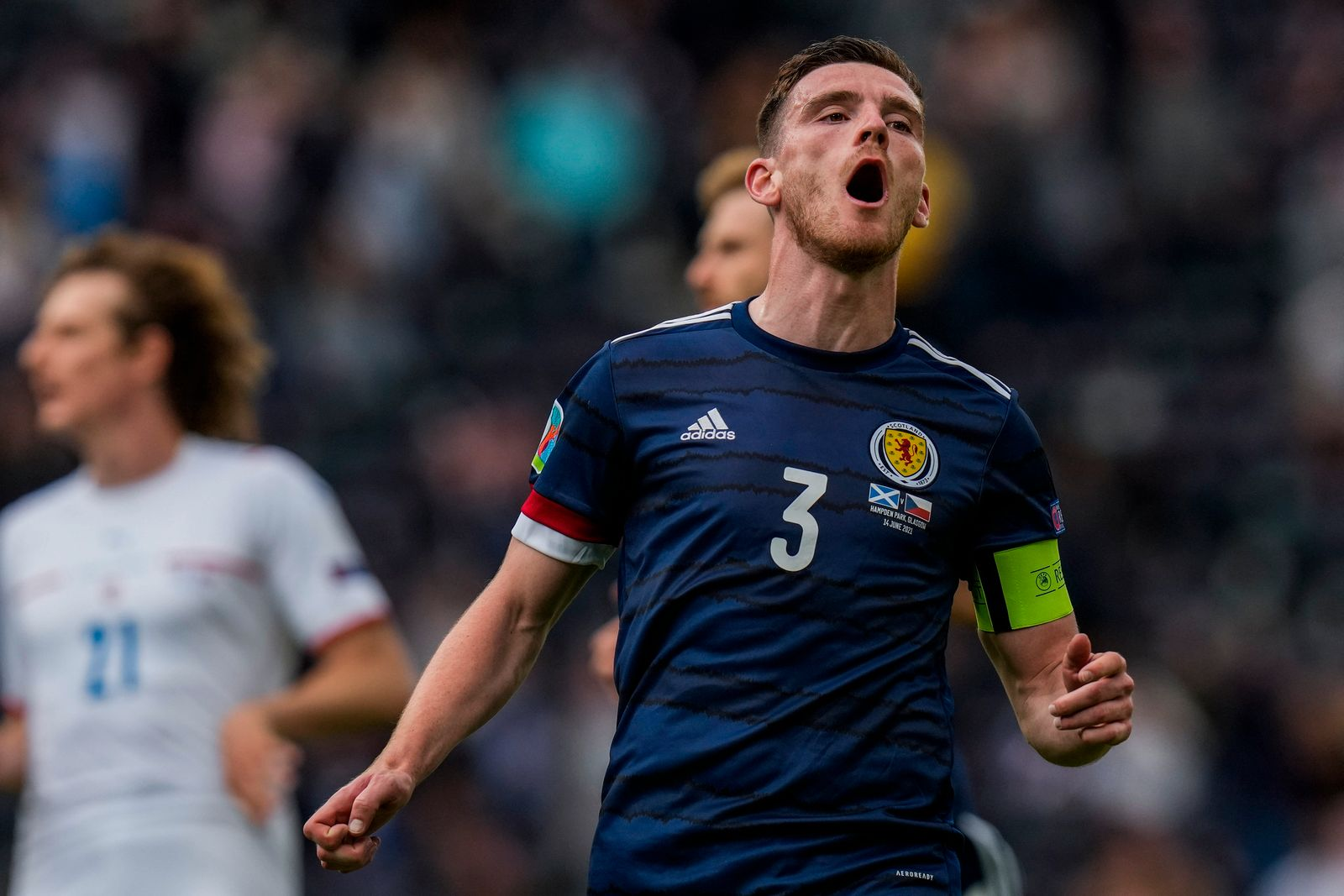 Britain Scotland Czech Republic Euro 2020 Soccer