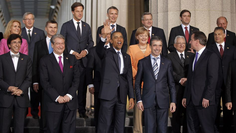 The Chicago NATO summit last May: despite grand reform pledges, not much has happened since then.