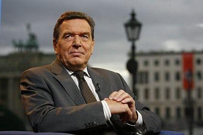 Altbundeskanzler Gerhard Schröder: Mitunter haarige Reaktionen, wenn es um seine Reputation geht