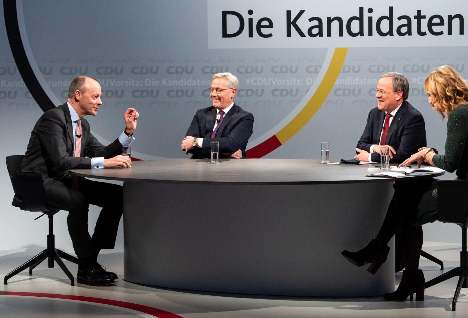 CDU-Vorsitz-Kandidaten stellen sich vor