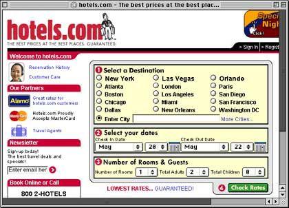 Hotels.com: Der erfolgreiche Zimmervermittler im Netz ist den großen Hotelketten ein Ärgernis - aber so recht kommen sie ohne ihn nicht aus