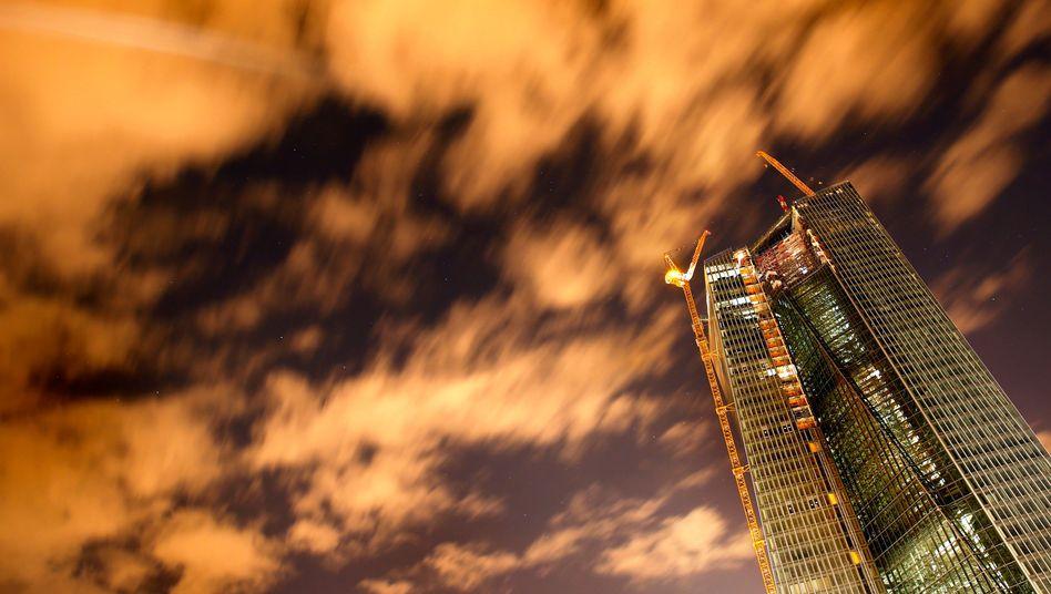 Baustelle der neuen EZB-Zentrale in Frankfurt: Unhaltbare Situation?