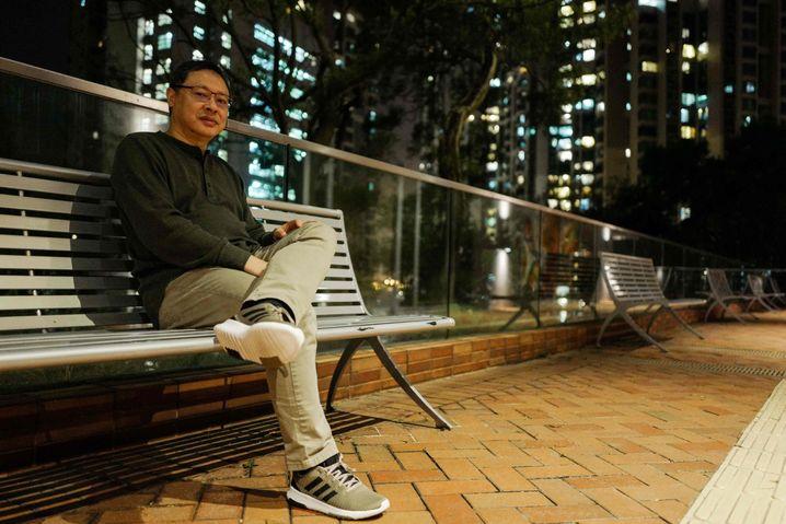 Benny Tai in Hongkong im Oktober 2018