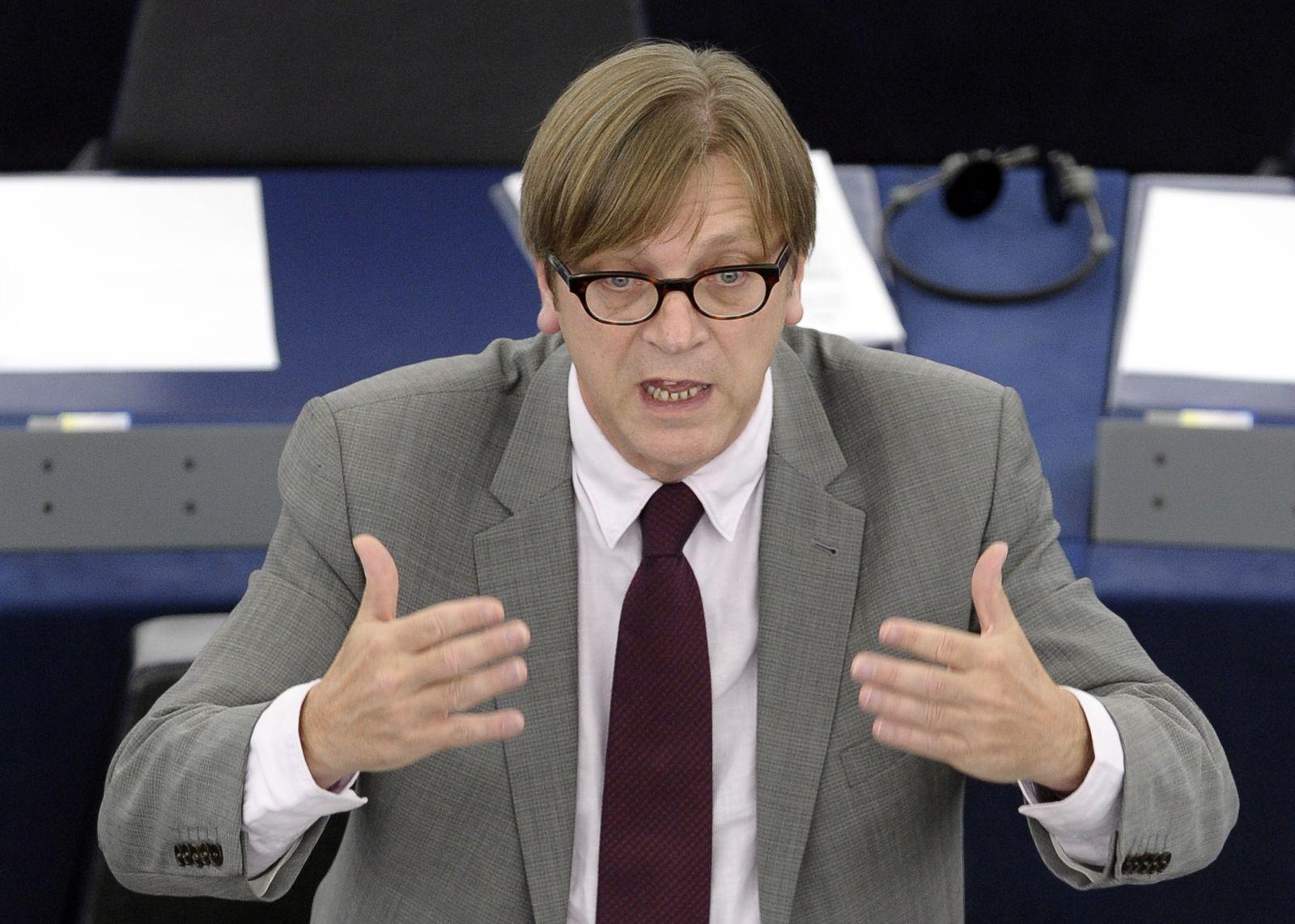 SPIEGEL 47/2011 pp118 SPIN Europe Verhofstadt