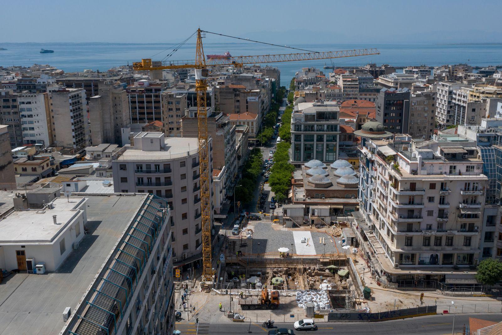 Thessaloniki Metro - Via Engatia