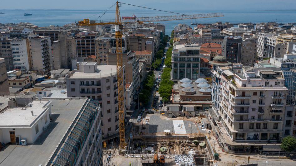 Metro-Baustelle in Thessaloniki: »Wir haben schon genug Antikes in Griechenland«