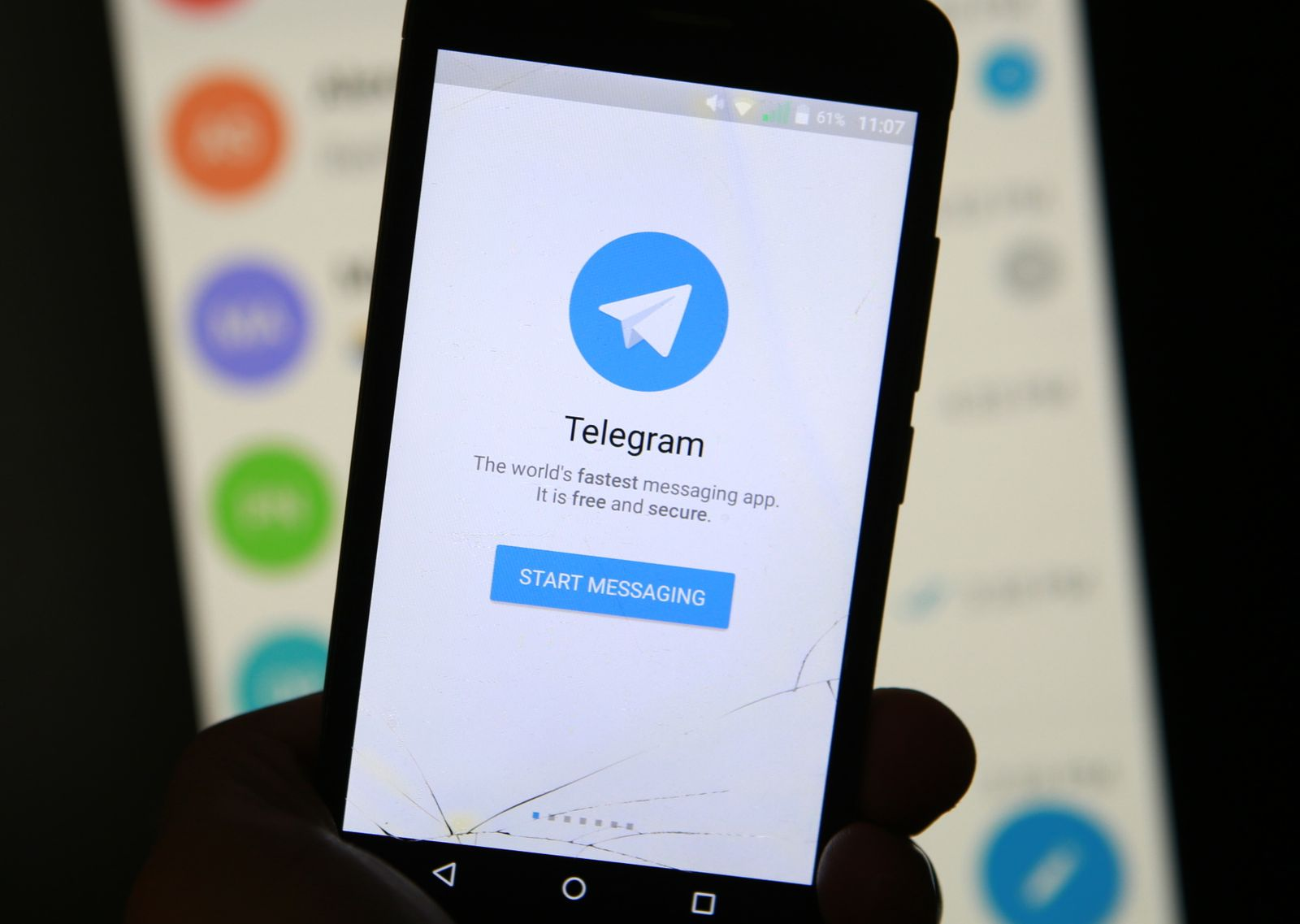 Messengerdienst Telegram