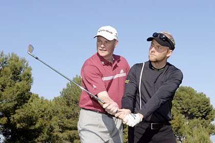PGA Pro des Jahres 2003 Martin Hasenbein, Schüler: Nachweis der unterschiedlichsten Schläge